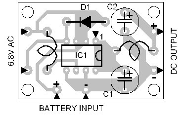 Parts Placement Layout Versatile Power Supply