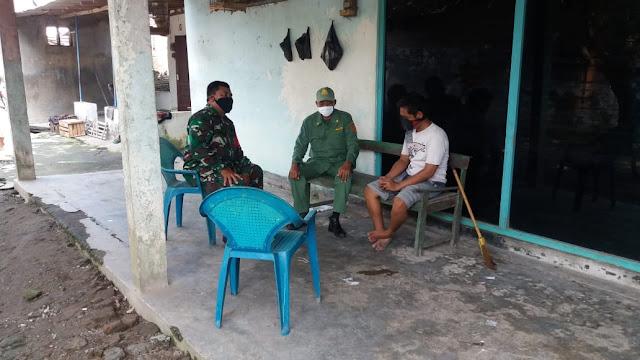 Babinsa Koramil Jogonalan Sosialisasi Pencegahan Covid 19  Bersama  Warga Binaan