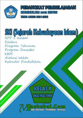 Perangkat Pembelajaran SKI Kurikulum 2013 Revisi Terbaru