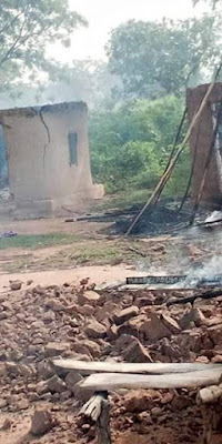 PHOTOS: Many Houses, Valuables Destroyed As Communal Clash In Benue Turns Bloody