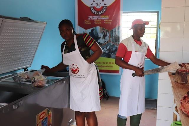 Ouverture de la nouvelle boucherie « Amy-Bous »  à Adidogomé