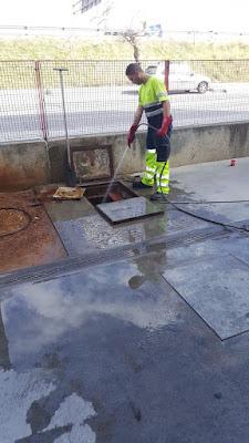 limpieza de imbornales en Sevilla