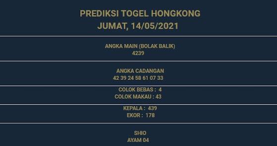 2 - PREDIKSI HONGKONG 14 MEI 2021