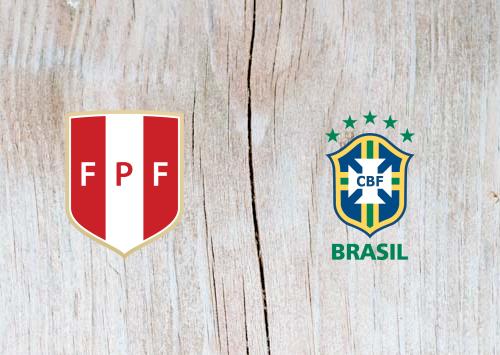 Peru vs Brazil Full Match & Highlights 22 June 2019