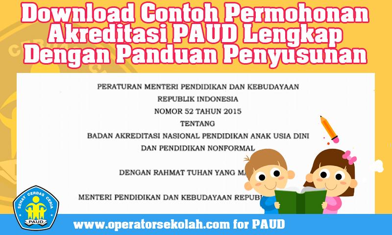 Download Permendikbud  Nomor 52 Tahun 2015  Tentang Badan Akreditasi PAUD