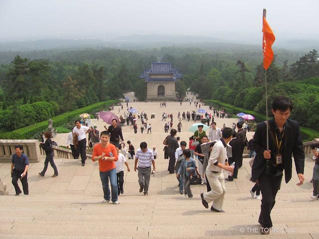 Sun Yat-Sen Mausoleum and Fuzimiao Temple. Nanjing, China