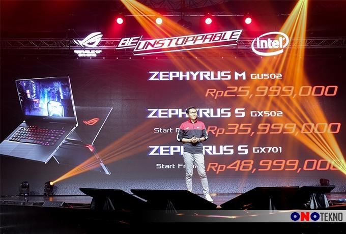 """ASUS ROG Zephyrus Terbaru """" Laptop Gaming Paling Tipis, Ringan dan Powerful """""""