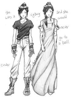 Cinder - Fanart por chrysalisgrey