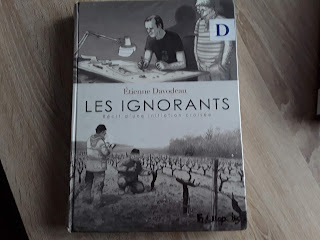 Bande dessinées couverture critique image vin initiation croisée