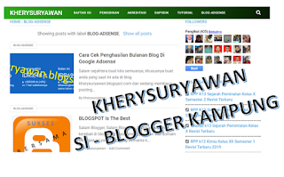File Pendidikan Blogger Kampung, Tapi Bukan Kampungan