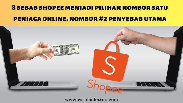 kelebihan berniaga online di shopee