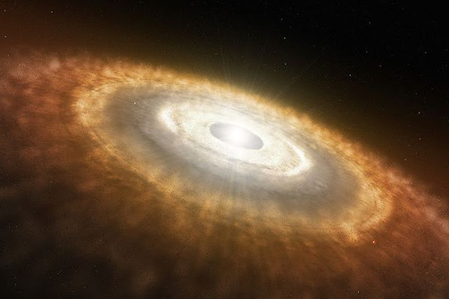 Methanol detected for first time around young star