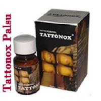 tattonox palsu