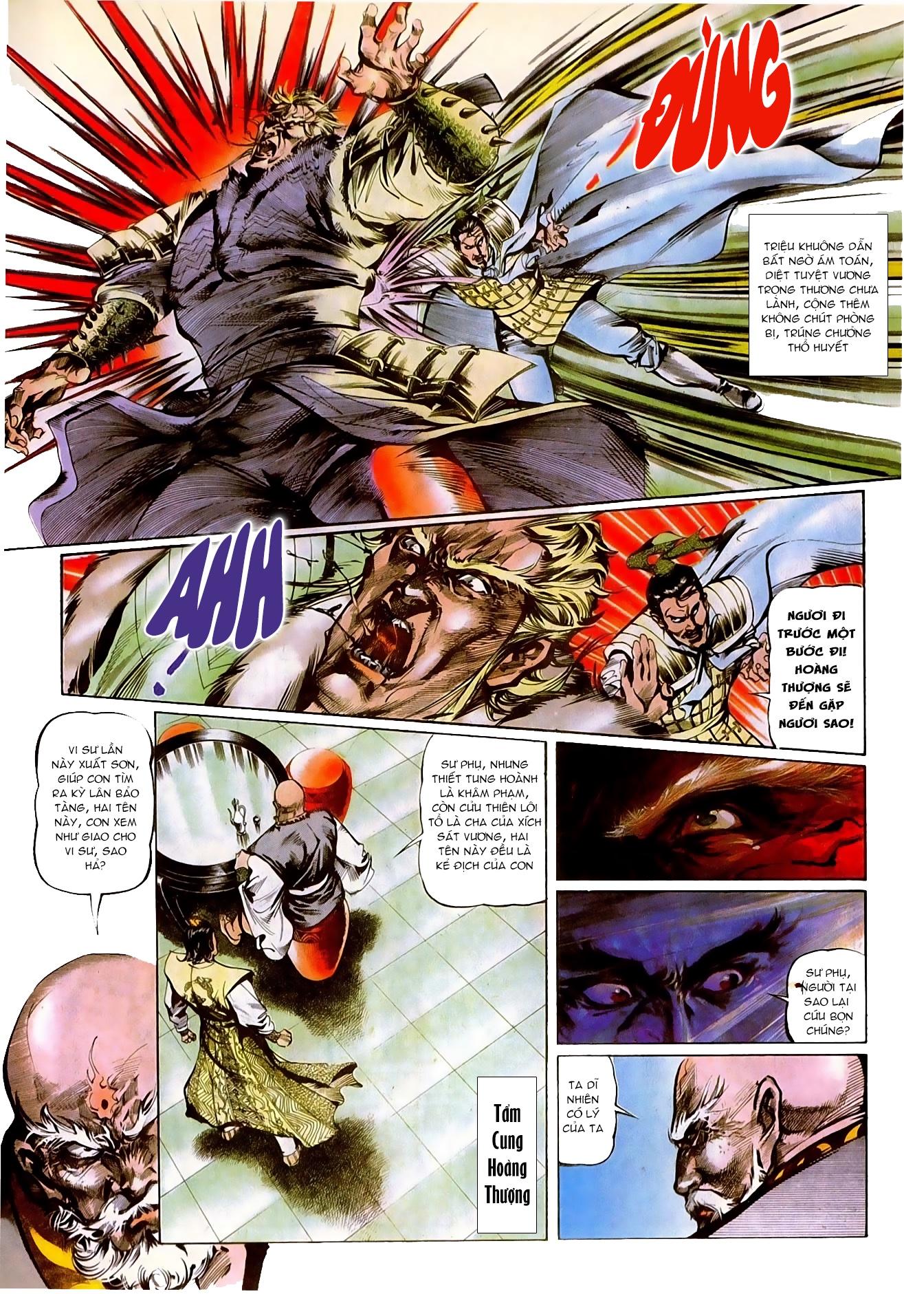 Thiết Tướng Tung Hoành Chap 272 - Trang 5