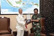 Panglima TNI Terima Kunjungan Kehormatan Kepala Staf Gabungan Portugal