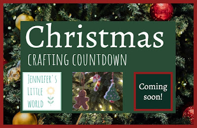 Christmas crafting countdown logo