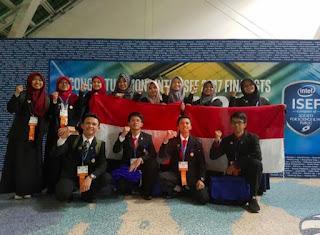 Peneliti Muda Indonesia Raih Penghargaan di Olimpiade Penelitian Internasional