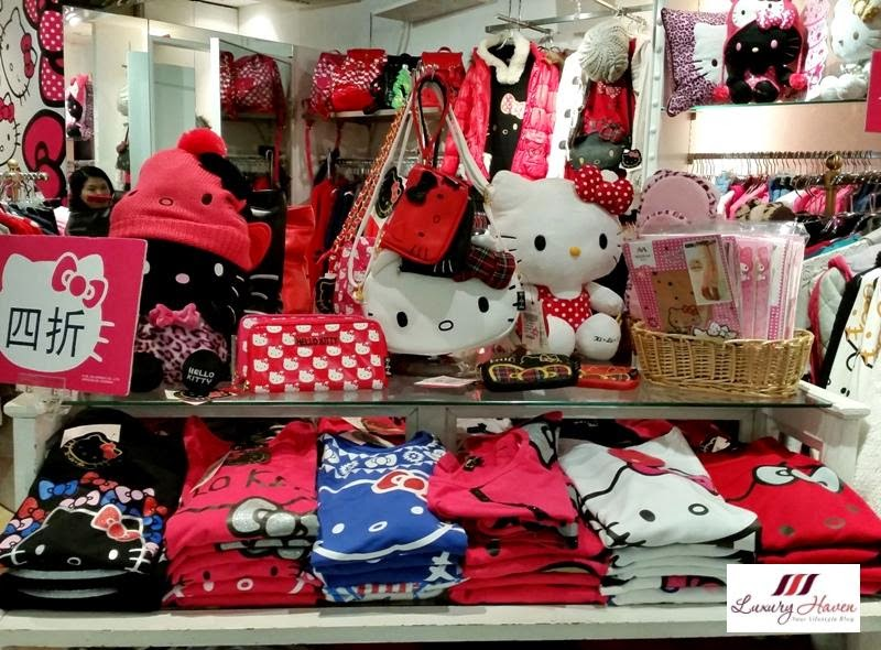 hong kong kirala ladies fashion hello kitty shopping