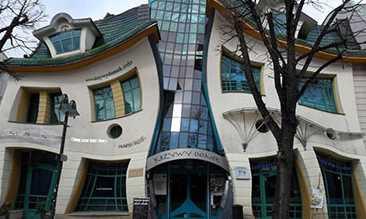 Inilah Bangunan Dengan Arsitektur Unik di Dunia