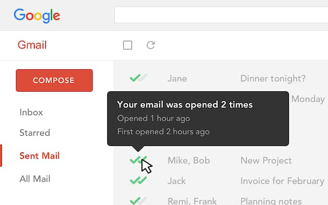 Free Email Tracking for Gmail