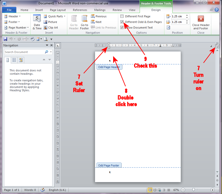 IMHO: Odd Page on the Right - Creating a Book in Word 2010