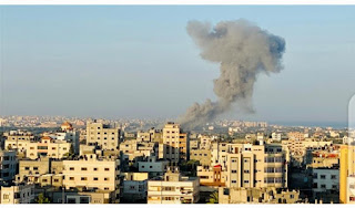 Palestinian group (Hamas) announces to reach a Qatari-mediated deal to end the latest escalation of violence with Israel