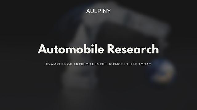 Automobile Research