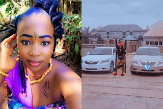 I Can't Believe I'm Having Two New Babies In Less Than One Month - Actress Chizoba Nwokoye Reveals As She Shows Off Her Cars