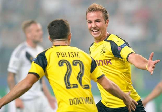 Borussia Dortmund Tenggelamkan Legia Warsawa