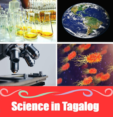 Science Word List in Tagalog