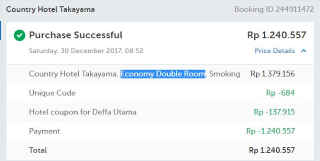 Country Hotel Takayama - Price
