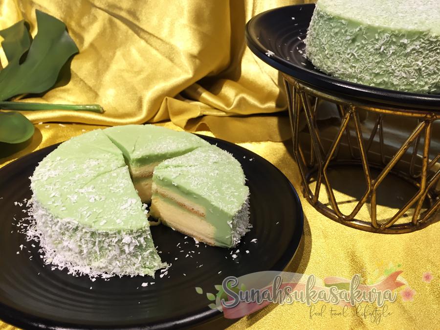 Pandan Layer Cake SDS Bakery & Cafe