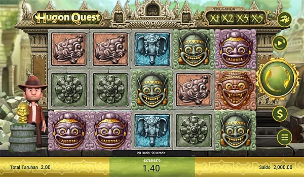 Main Gratis Slot Indonesia - Hugon Quest Spadegaming
