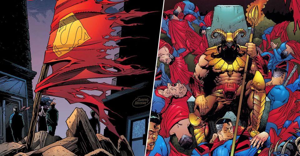DOSSIE ESPECIAL: 10 MORTES DE SUPERMAN NAS MÃOS DE INIMIGOS!!!