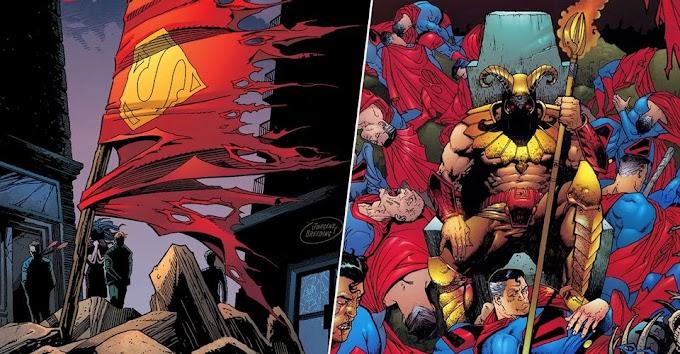 SUPERMAN - 10 MORTES NAS MÃOS DE VILÕES...