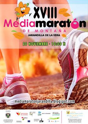 """XVIII Media Maratón de Montaña """"Villa de Jarandilla"""""""