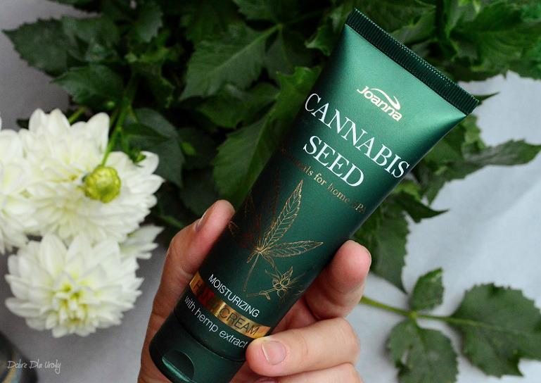 Joanna Botanicals for Home Spa Cannabis Seeds Nawilżający Krem do rąk z Ekstraktem z Konopi recenzja