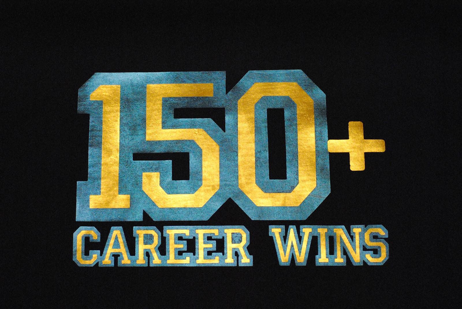 K E Kreations 150 Wins Shirt