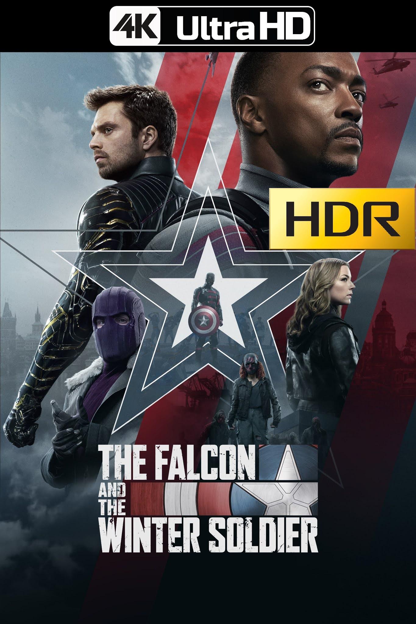 Falcon Y El Soldado De Invierno (2021) temporada 1 Web-DL 4K UHD HDR Latino