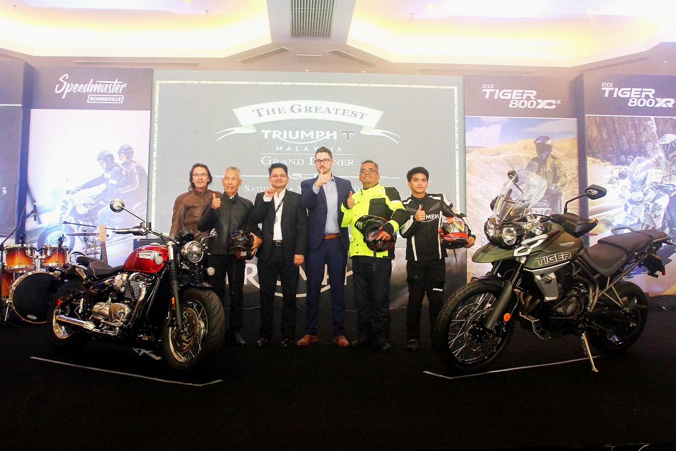 Motoring Malaysia Triumph Motorcycles Malaysia Introduces Eight New