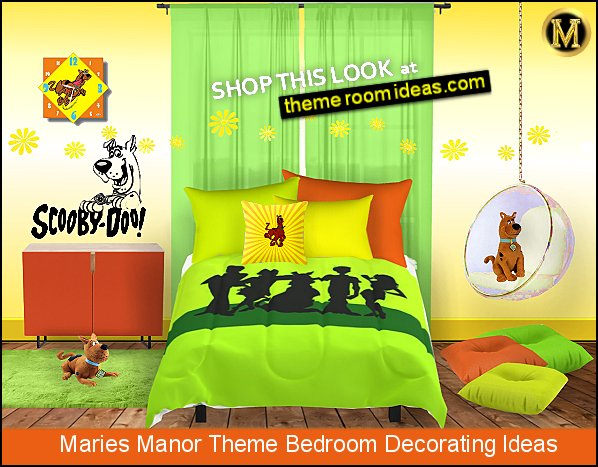 scooby doo bedrooms scooby doo bedding scooby doo wall decals