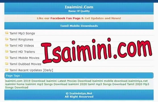 Moviesda isaimini Live link: 2021 Tamilrockers Tamil Movies HD Dubbed Online