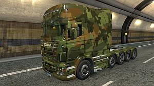 Army Scania RJL