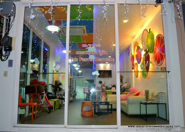 The Frutta Boutique in Patong Beach