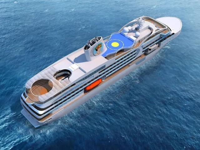 Aranui Crioses announces construction of new ships Aranui from China's Hunghai Shipyard