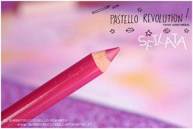 sfilata BioPastello labbra Neve Cosmetics  pastello revolution