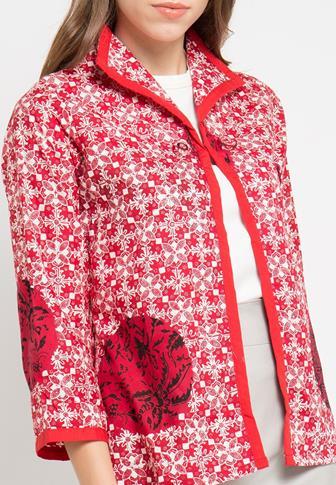 Model Bolero Batik Yang Paling Disukai