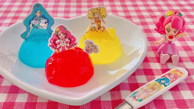 Precure Dress Jelly Dolls (Healin' Good Pretty Cure DIY Kit)