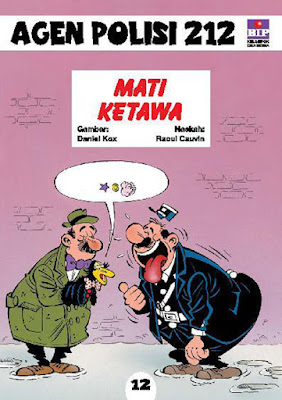 komik agen polisi 212 volume 12 - mati ketawa