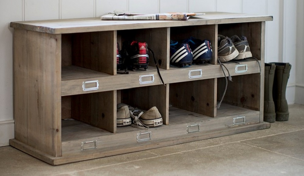 A Useful Addition To Any Hallway, Boot Or Utility Room With 8 Cubby Holes  For Storage.